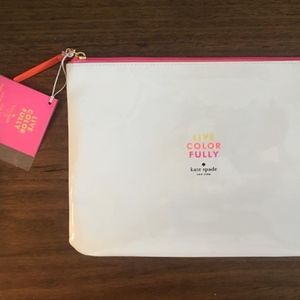 NEW! Kate Spade Cosmetics Bag